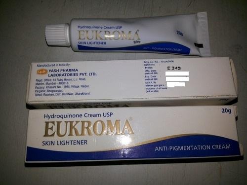 Eukroma Cream 4% (Hydroquinone Cream) 2 X 20g = 40g Skin Brightening Lightening Cream Anti Melesma Buy Online